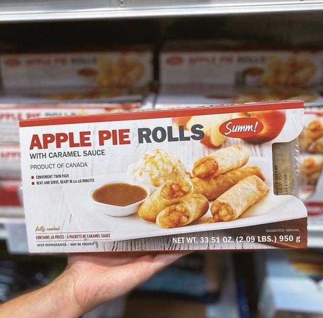 costco apple pie rolls