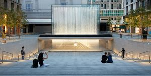 Apple Piazza Liberty dará una nueva vida a una plaza del centro de Milán.