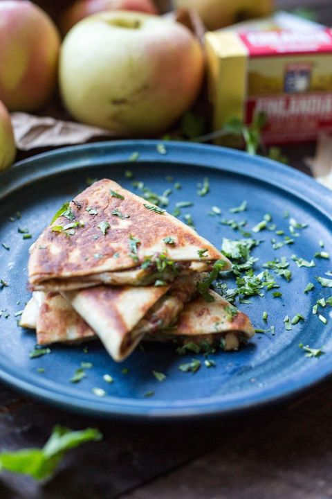 apple quesadillas recipe