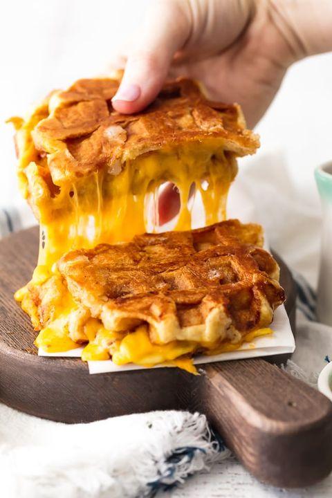 apple recipes waffles