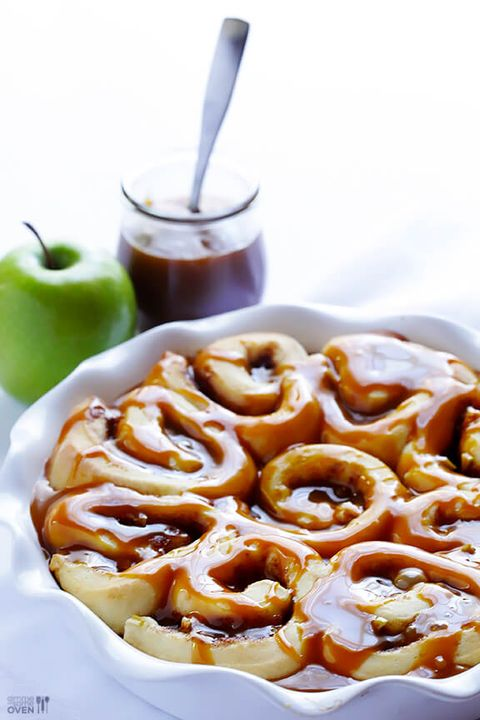 apple caramel cinnamon roll recipe