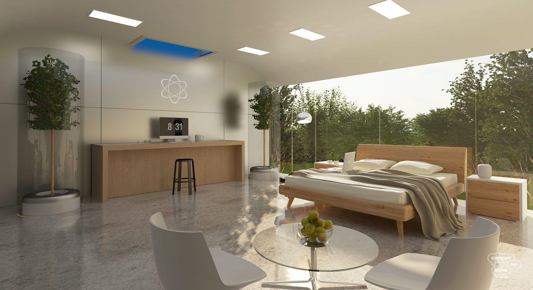 Apple bedroom design