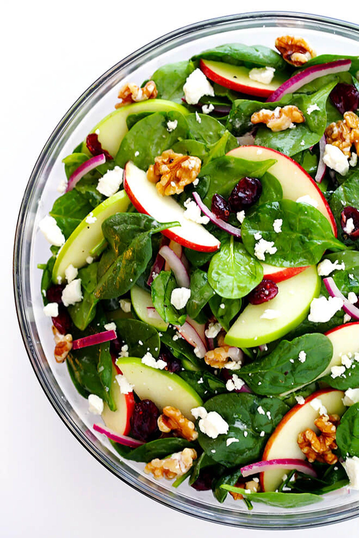 apple salad recipes autumn