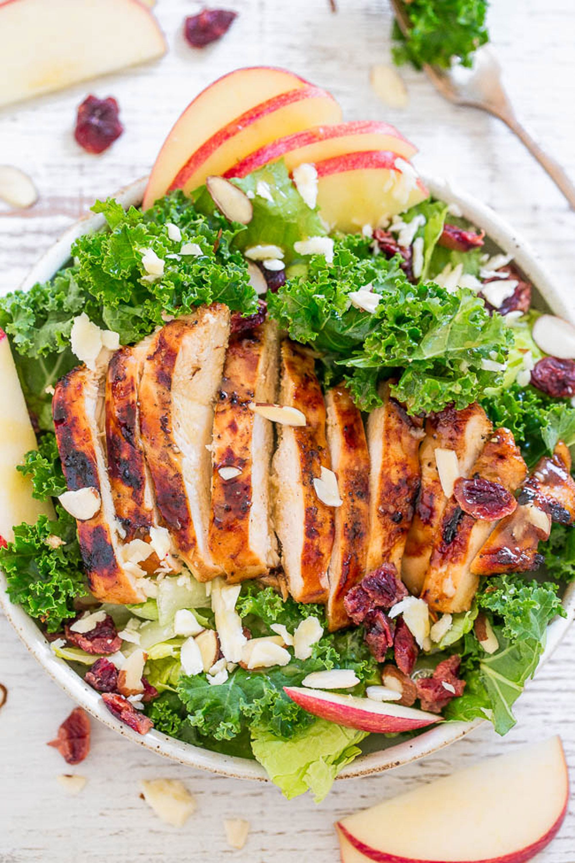 apple salad recipes grilled chicken
