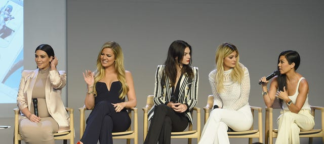 apple store soho presents meet the developers kim kardashian, kourtney kardashian, khloe kardashian, kendall jenner  kylie jenner