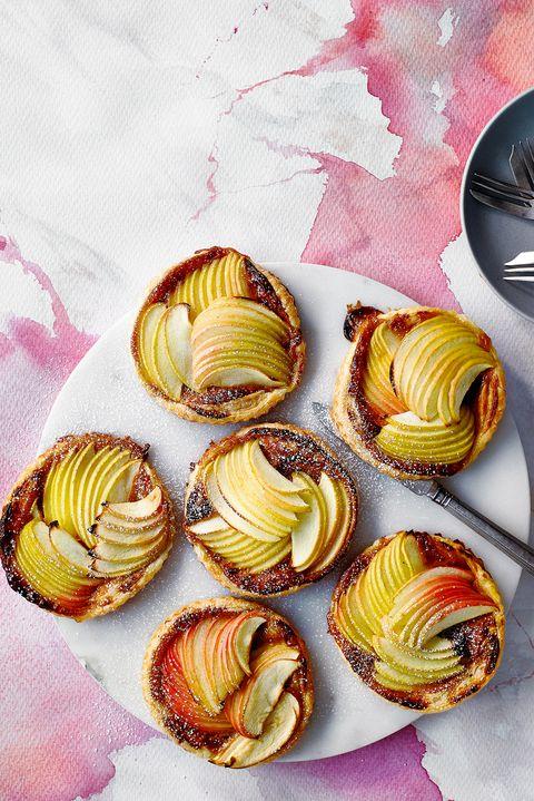 Three ingredient easy apple tarts