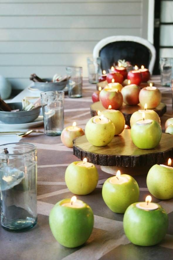 apple thanksgiving centerpiece