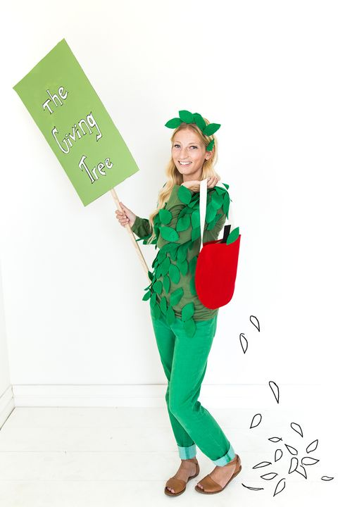 the giving tree diy halloween costume