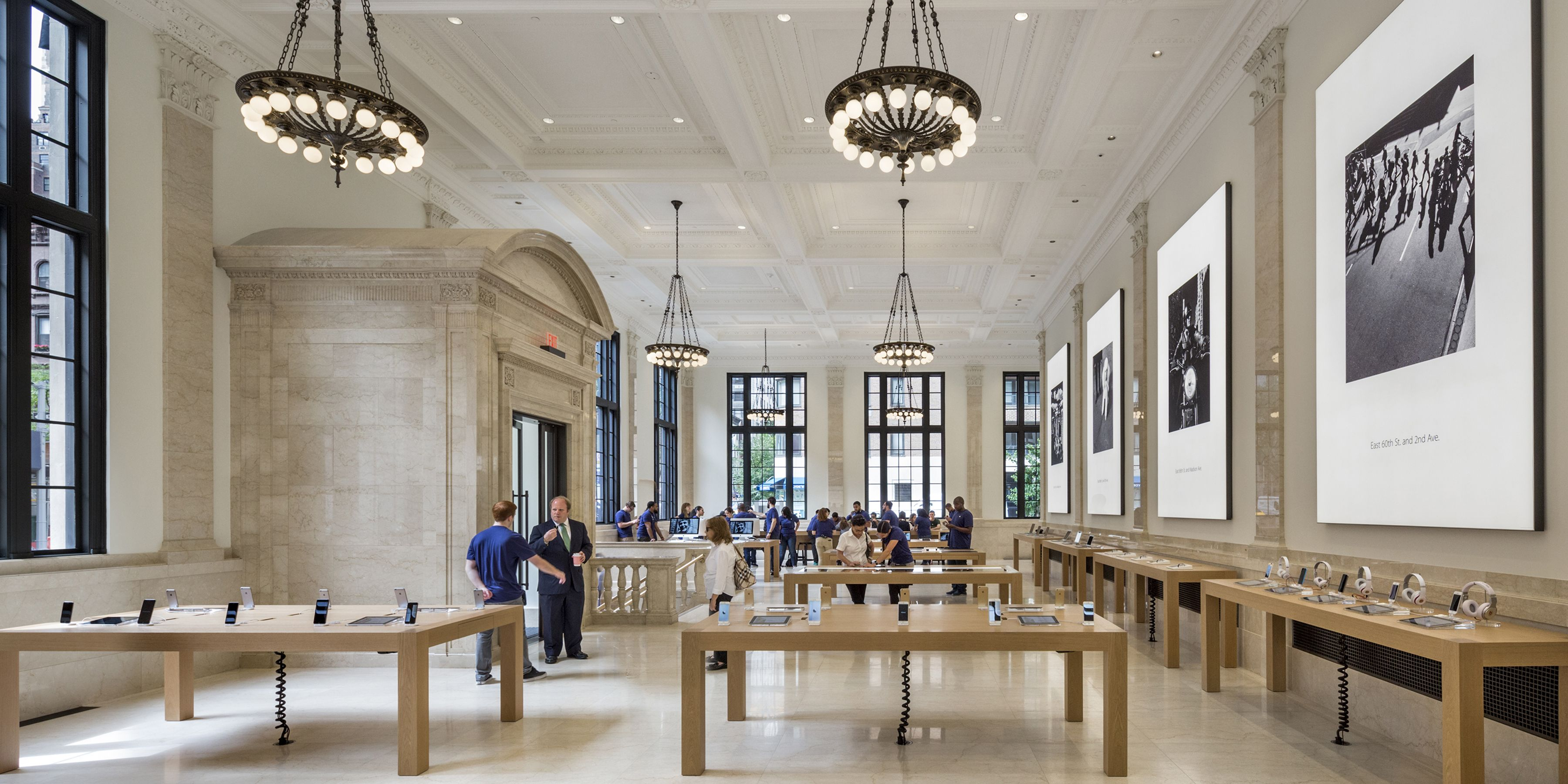 Bohlin Cywinski Jackson, Apple Store, Upper East Side, NY
