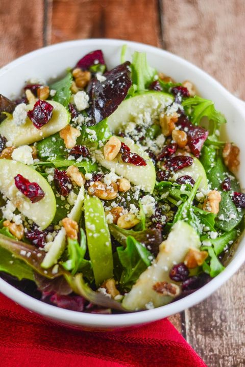 cranberry recipes apple walnut cranberry salad