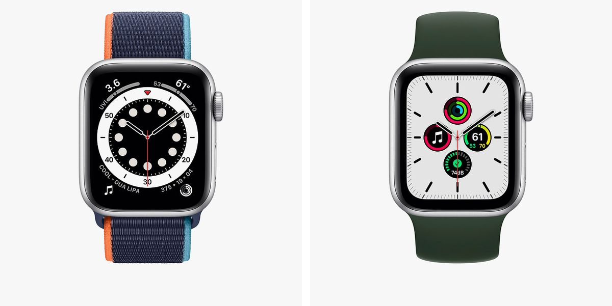 Apple Watch Series 6 Vs. Apple Watch SE: What's the Difference