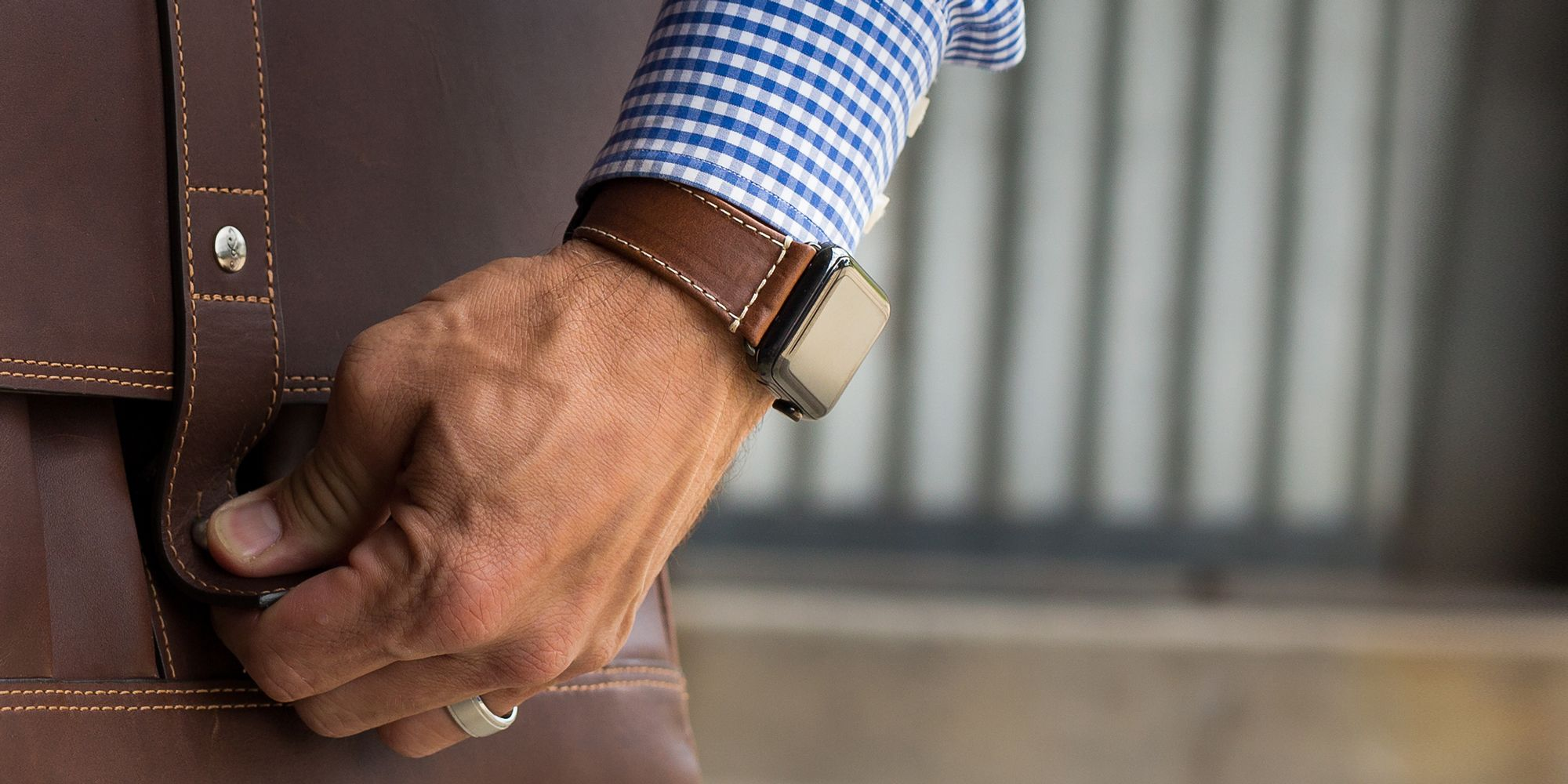 THESE APPLE WATCH BANDS BRING A CUSTOMIZED LOOK TO YOUR FAVORITE GADGET