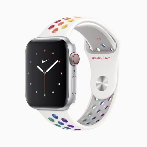 在同志驕傲月,apple x nike 推出聯名 apple watch 彩虹版錶帶