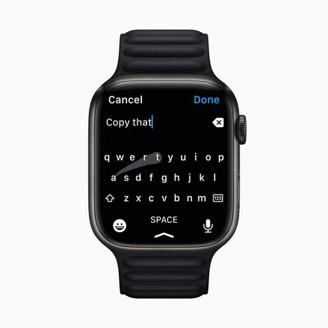 apple watch series 7 qwerty keyboard