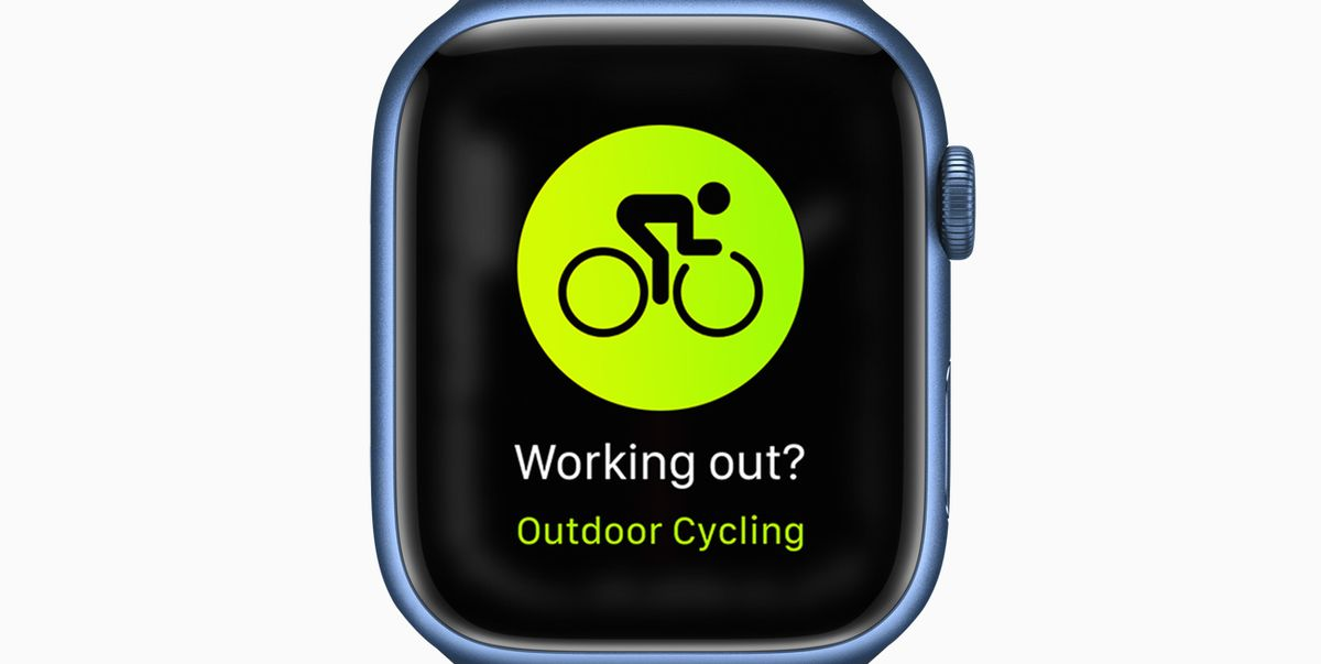 Apple Releases New Cycling Features With the Watch Series 7 and WatchOS 8 Update