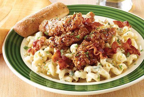Dish, Food, Cuisine, Ingredient, Meat, Rotini, Produce, Pasta salad, Macaroni, Staple food,