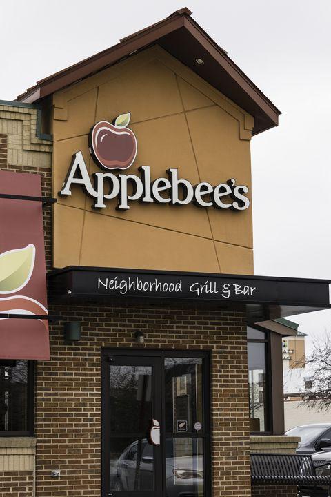 applebees restaurant storefront