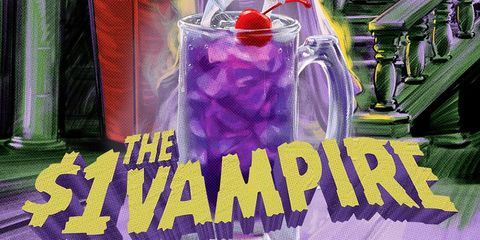 Purple, Fictional character, Drink,