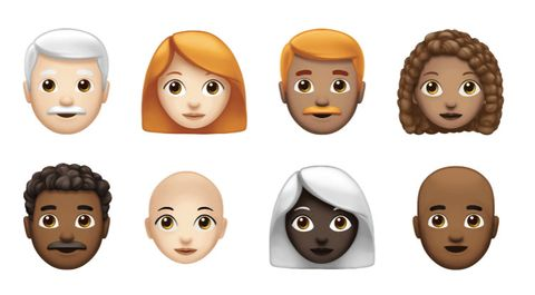 apple is rolling out more than 70 new emojis apple s new redhead