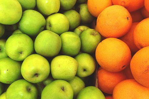 apples vs oranges health benefits