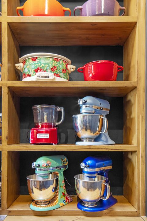 appliance storage pantry organization