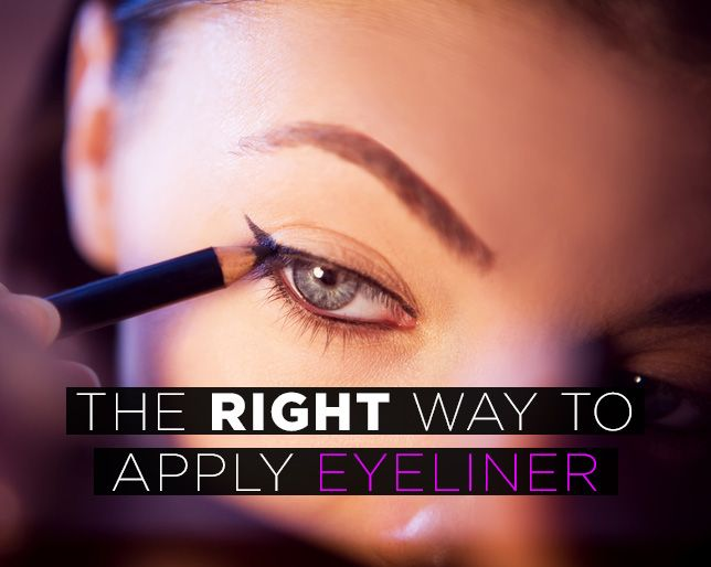 The Most Flattering Eyeliner Look for Your Eye Shape