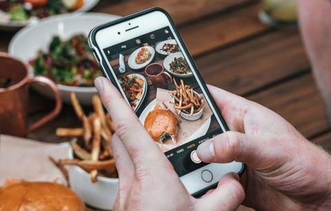 imagen de una app para aprovechar las sobras de comida de restaurantes y comercios