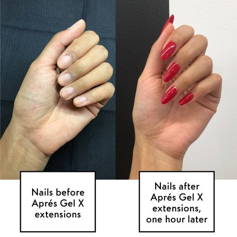 Gel Nail Extensions vs. Acrylics Fake Nails - What Are Gel Nail ...