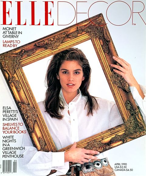Elle Decor april 1990