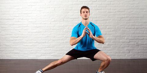 Human leg, Shoulder, Elbow, Joint, Standing, Floor, Flooring, Wrist, Athletic shoe, Sportswear,