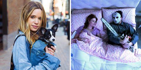 Canidae, Companion dog, Photography, Portrait, Black hair, Long hair, Collage, Portrait photography, Carnivore, Style,