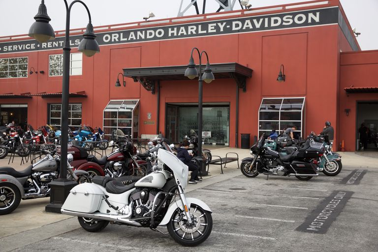Indian Motorcycle Is Coming for Harley-Davidson's Throne