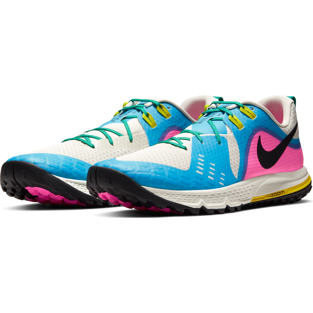 Running in Nike's new-look trail shoes
