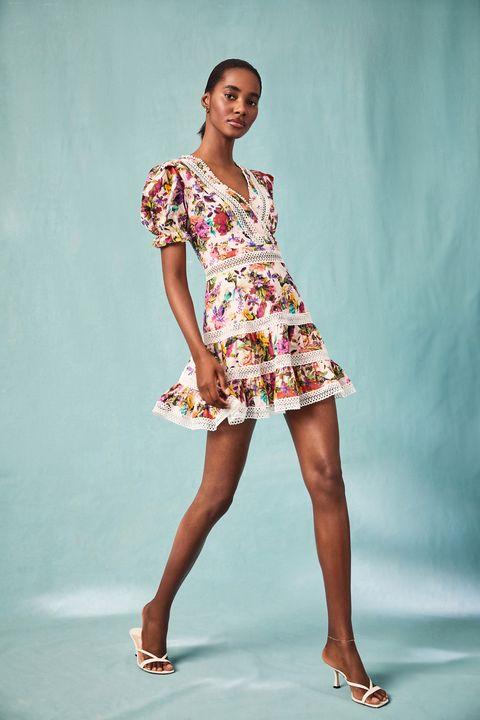 mary katrantzou aqua bloomingdales collaboration summer dress