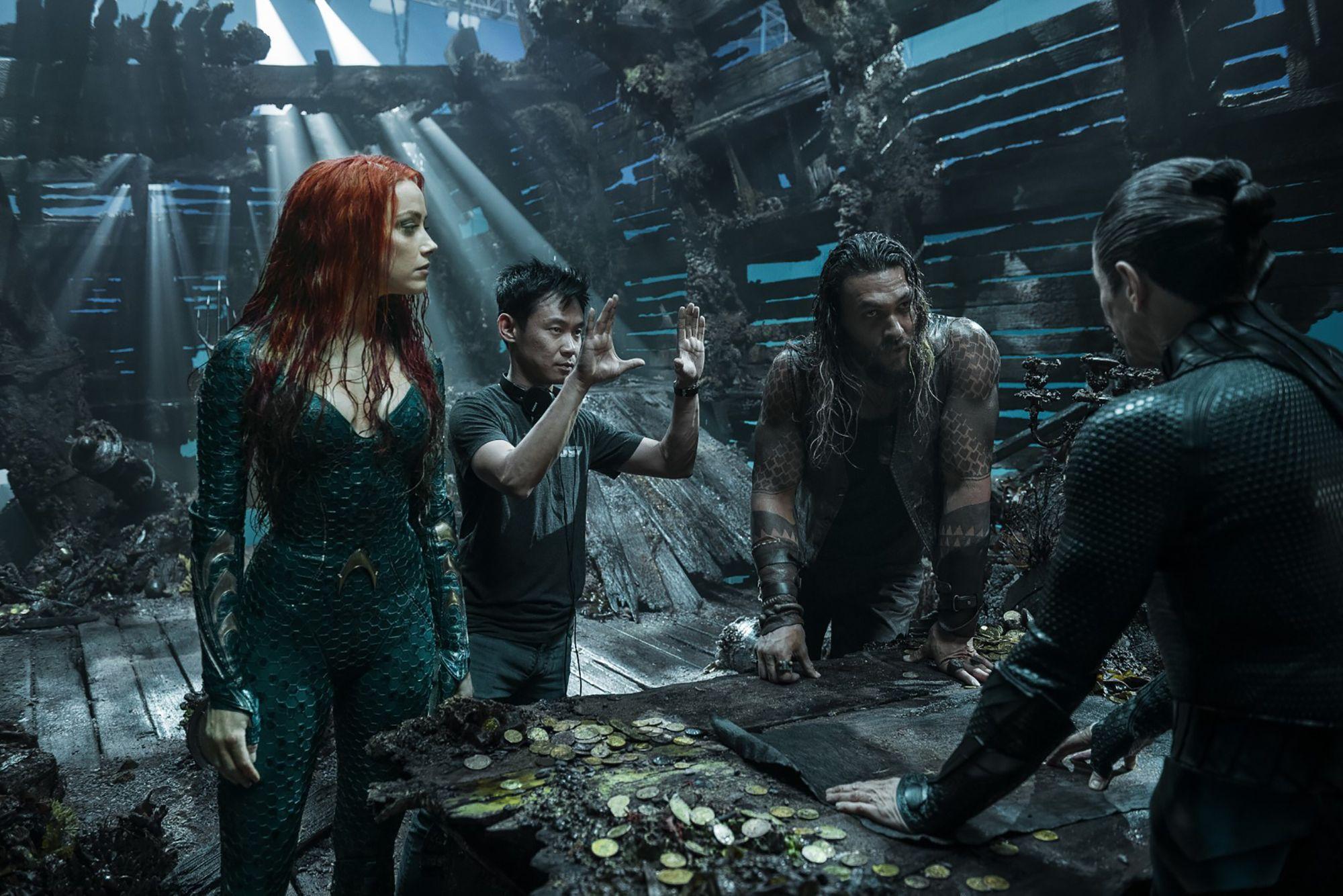 'Aquaman 2': ¿Se encargará James Wan de dirigir la segunda parte?