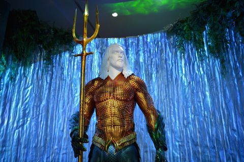 Warner Bros. Studio Tour Hollywood - Aquaman Exhibit