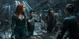 James Wan dirige a Jason Momoa, Amber Heard y Willem Dafoe en Aquaman