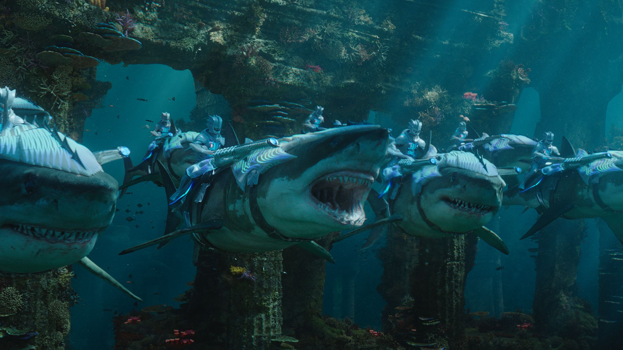 Squali di battaglia di Aquaman