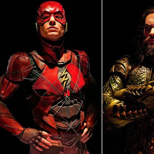 The Flash Aquaman Wonder Woman