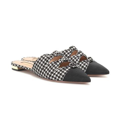 Aquazzara shoes Pied-de-poule