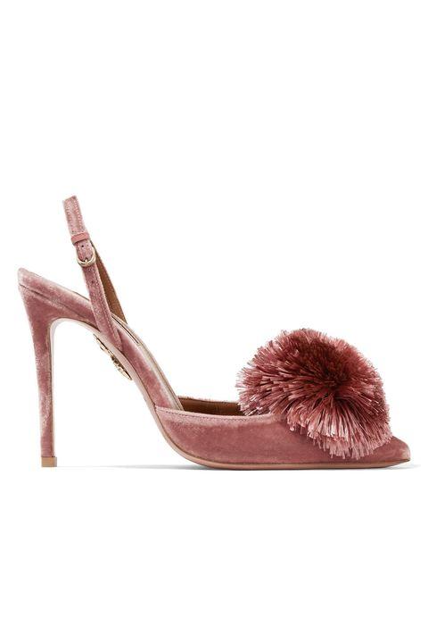 Footwear, Shoe, Brown, Sandal, High heels, Beige, Leather, Slingback,