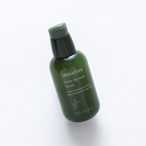 Green, Product, Nail polish, Material property, Cosmetics, Nail care, Liquid, Bottle, Nail,
