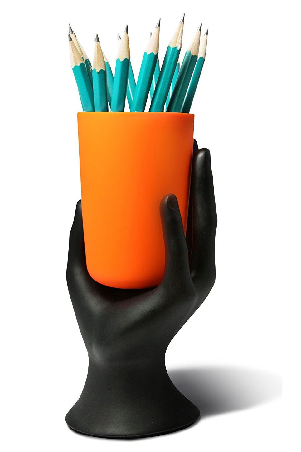 arad hand cup pen pencil holder by lilgift