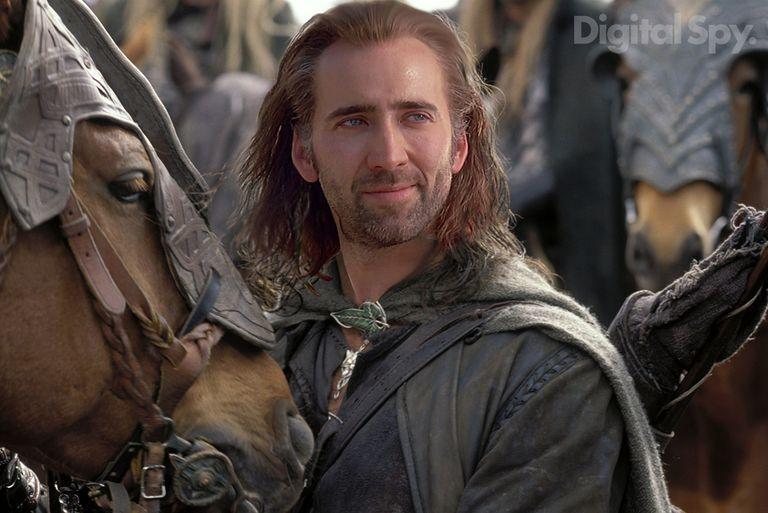 Nicolas Cage Aragon El señor de los anillos