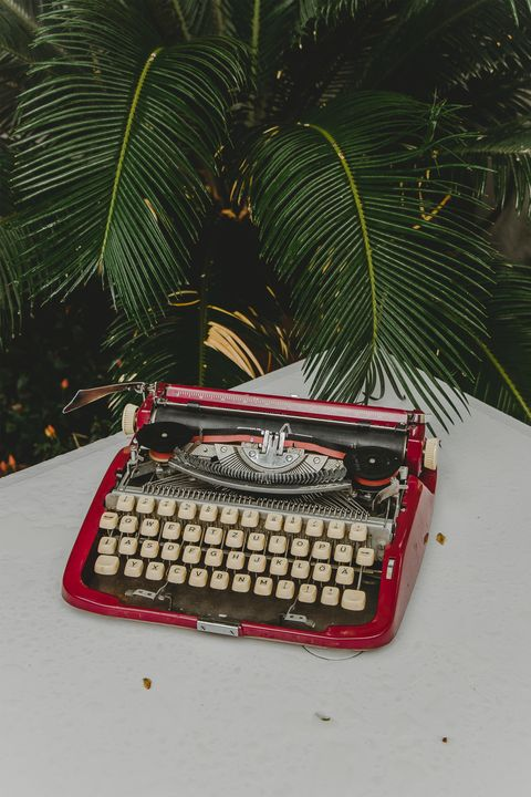 Typewriter, Office equipment, Space bar, Office supplies,
