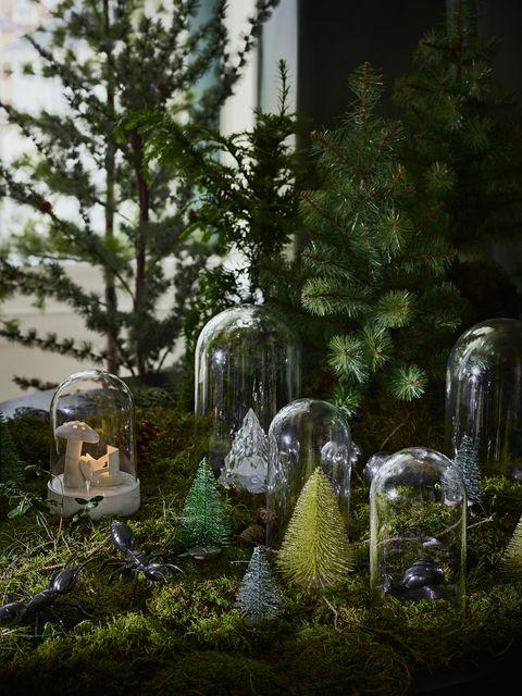Árbol de Navidad mini FEJKA de IKEA