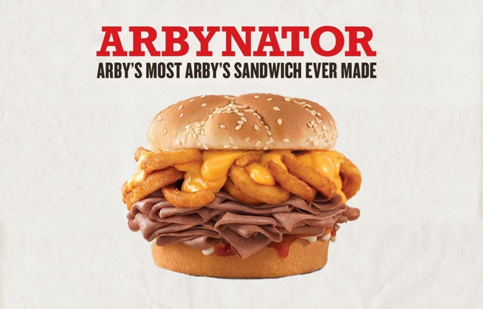 Arby's New Roast Beef Sandwich Is STUFFED With Curly Cheese Fries