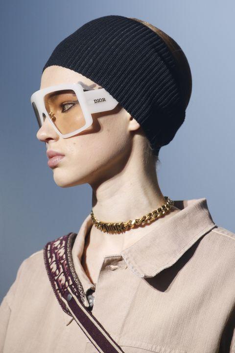Clothing, Beanie, Cap, Eyewear, Knit cap, Headgear, Fashion, Neck, Fashion accessory, Hat,