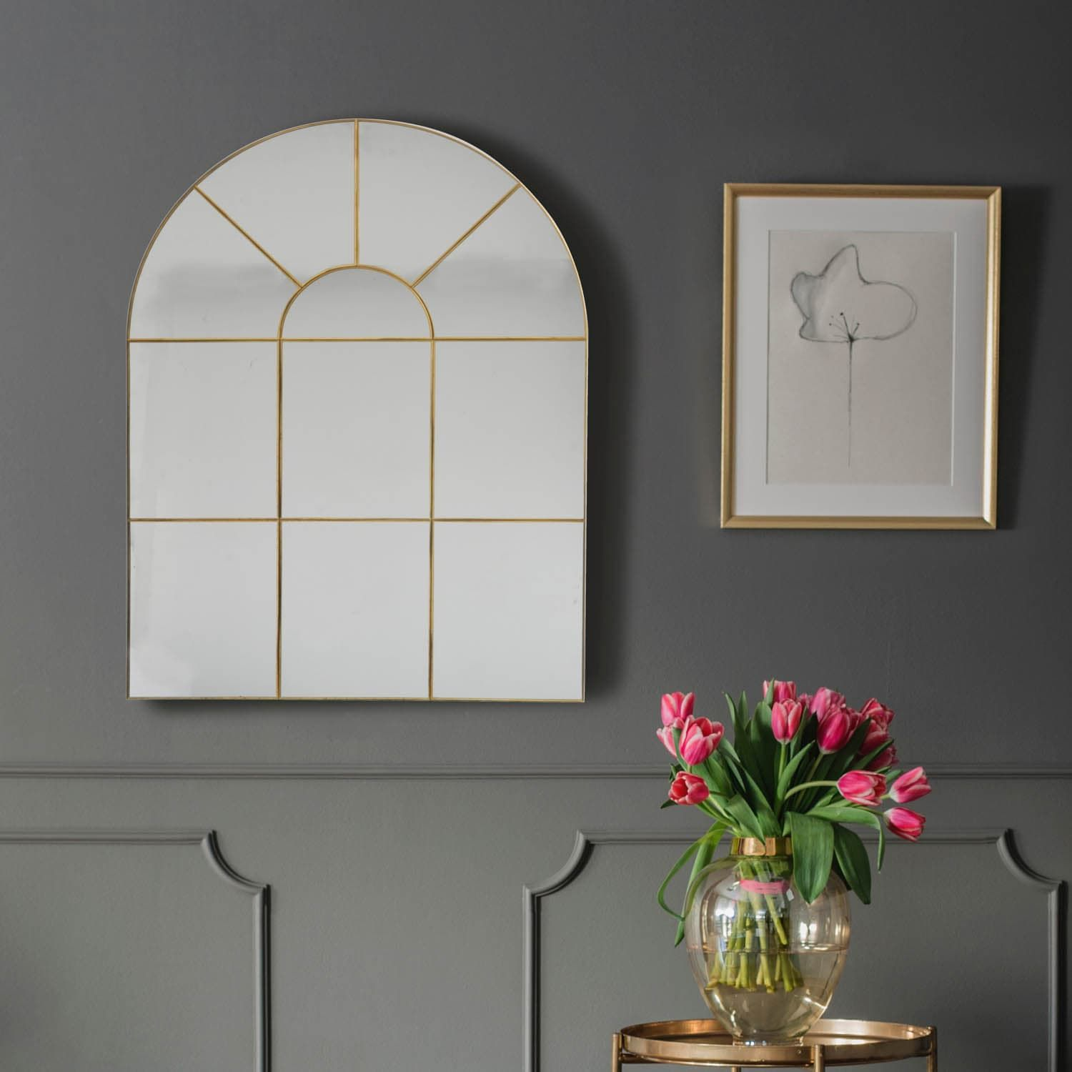 B M Is Selling Must Have Arched Grid Mirror For 30