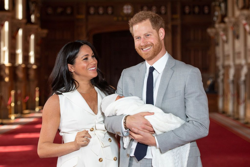Prince Harry and Meghan Markle have shared a new photo of Baby Archie